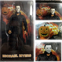 NECA Halloween Final Michael Myers Action Figure Collectible Modelo Toys Dolls Presente(China)