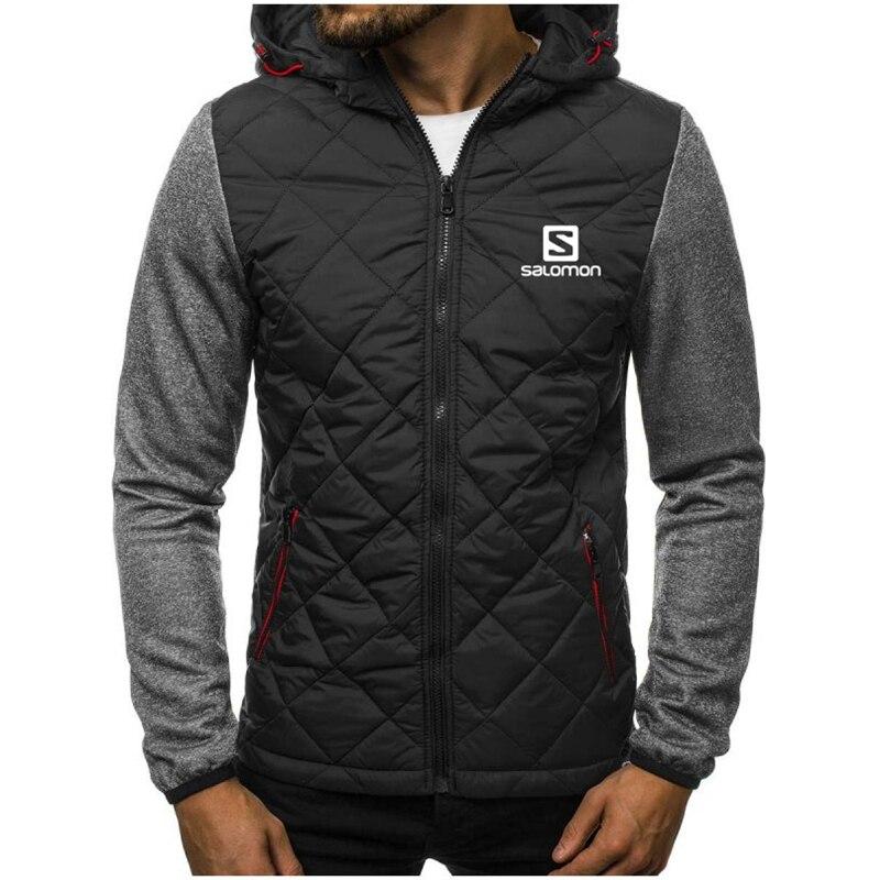 2020 New Fashion Splicing Hoody S Printing Men Hoodies Sweatshirts Casual Hooded Sportswear Jacket Coat Zip Cardigan Plus Fleece