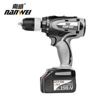 NANWEI high quality 21v Electric cordless driver drill