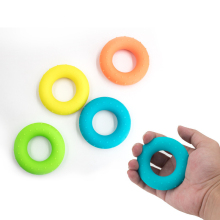Silicone grip 50LB Gripping ring Finger grip ball f