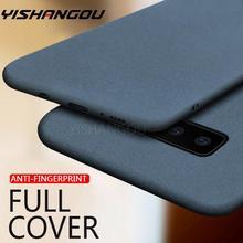 Sandstone Slim Rubber Matte Soft Case For Samsung Galaxy S20 FE Note20 Ultra S21 A50 A70 A51 A71 A21S M31 S8 S9 S10 Plus A31 M51