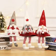 Cute Faceless Cloth Fabric Doll Figurines Home Christmas Ornament Multipurpose Christmas Tree Party Decorations Holiday Gifts цена в Москве и Питере