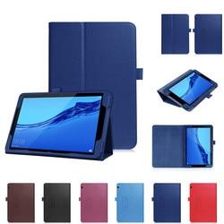 Защитный чехол, Умный Магнитный кожаный флип-чехол, чехол-подставка для Huawei Mediapad T5 10 дюймов, чехлы для планшетов