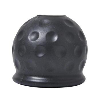 50mm cubierta de bola de barra de remolque de enganche de remolque caravana remolque Towball proteger PVC Universal para coche camión de remolque