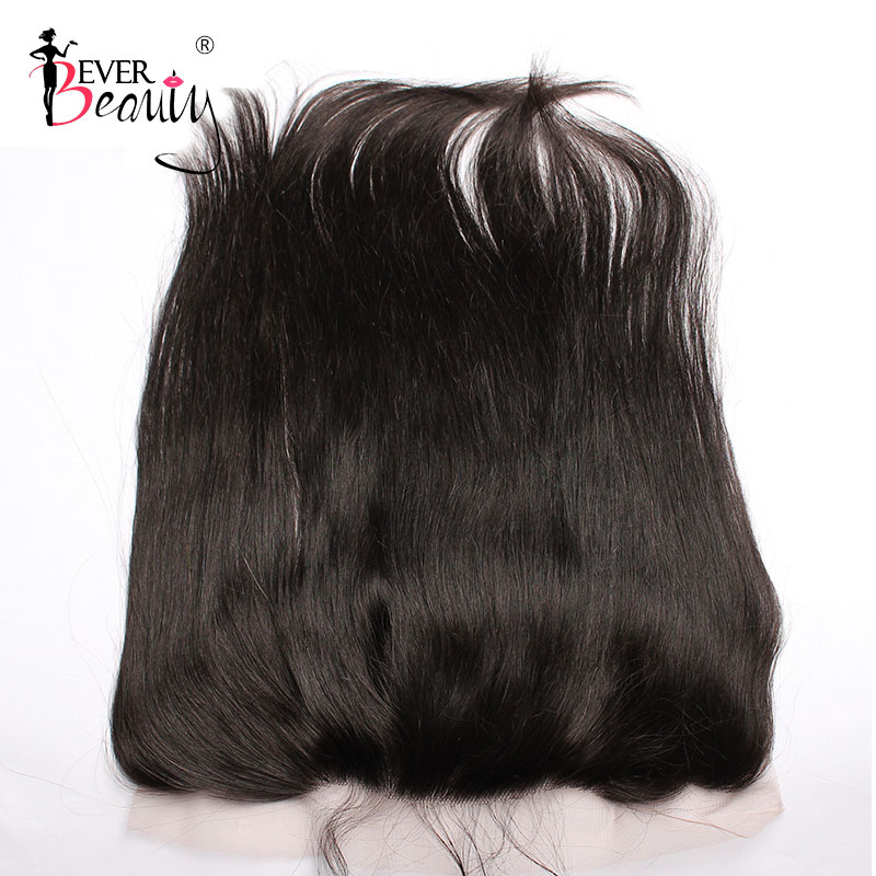 13x4 Lace Frontal Closure Pre Plucked With Baby Hair Ear to Ear 100% Human Hair Brazilian Straight Free Part Ever Beuaty Remy