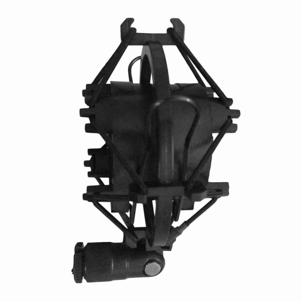 אוניברסלי 3KG עומס נסבל מיקרופון מיקרופון הלם הר קליפ מחזיק Stand אולפן רדיו קול שיא סוגר стойка для микрофона