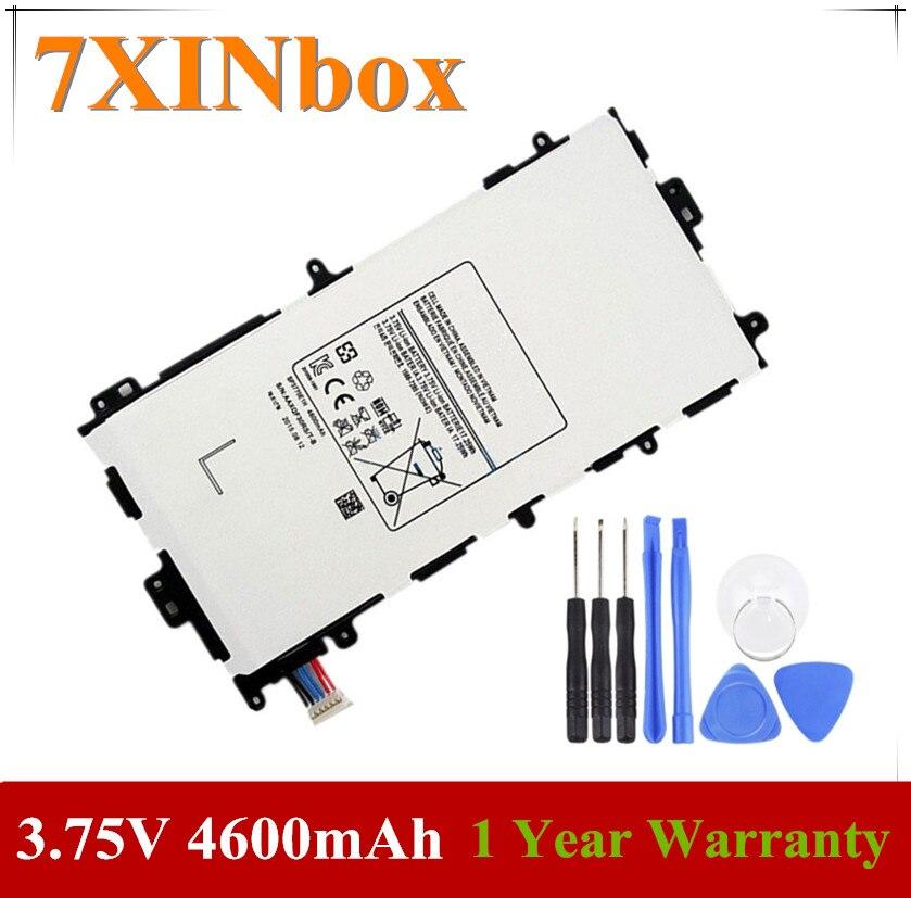 7XINbox 3,75 V 17.25Wh 4600mAh Original SP3770E1H batería del ordenador portátil para Samsung Galaxy Note 8,0 GT-N5110 N5100 Tablet