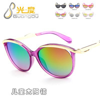 cute cat eye children sunglasses brand 2020 UV400 Protection kids girls boys toddler sun glasses vintage oculos de sol infantil