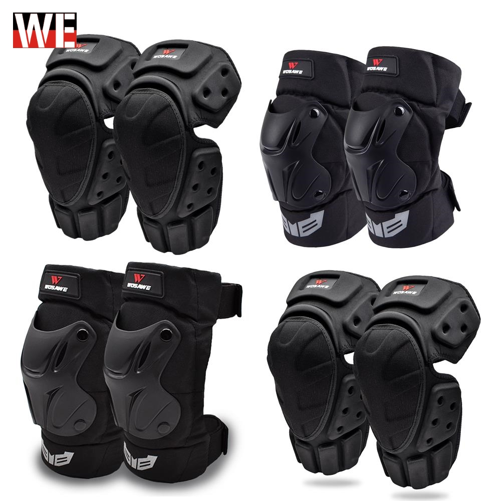 WOSAWE Motorcycle Motocross Knee Pads Elbow Protector Off Road Safety Knee Brace Support MTB Ski Racing Sports Protective Gear