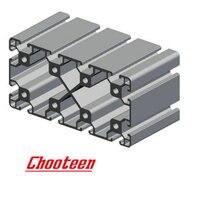 CHUJIN 6063 T5 Extruded 80160 Aluminum Profile frame Equipment CNC door window