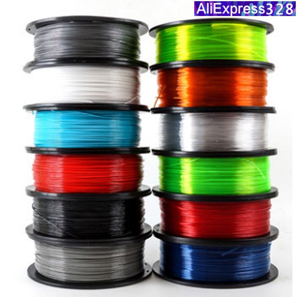 עץ/PETG/TPU = להגמיש/ניילון/כרטיסיות נימה פלסטיק YOUSU עבור 3d מדפסת ANET אנדר/1kg 340m/קוטר 1.75mm/חינם ממוסקבה