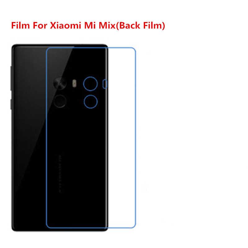 1/2/5/10 Pcs Ultra Thin Klar HD LCD Screen Protector Film Mit Reinigungs Tuch Film Für Xiaomi mi Mix/Für Xiaomi Mi Mix (Zurück).