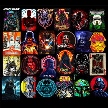 New 50pcs/pack Super Cool Star Wars Stickers for Luggage Laptop Decal Skateboard Stickers Moto Bicycle Car Guitar Fridge Sticker