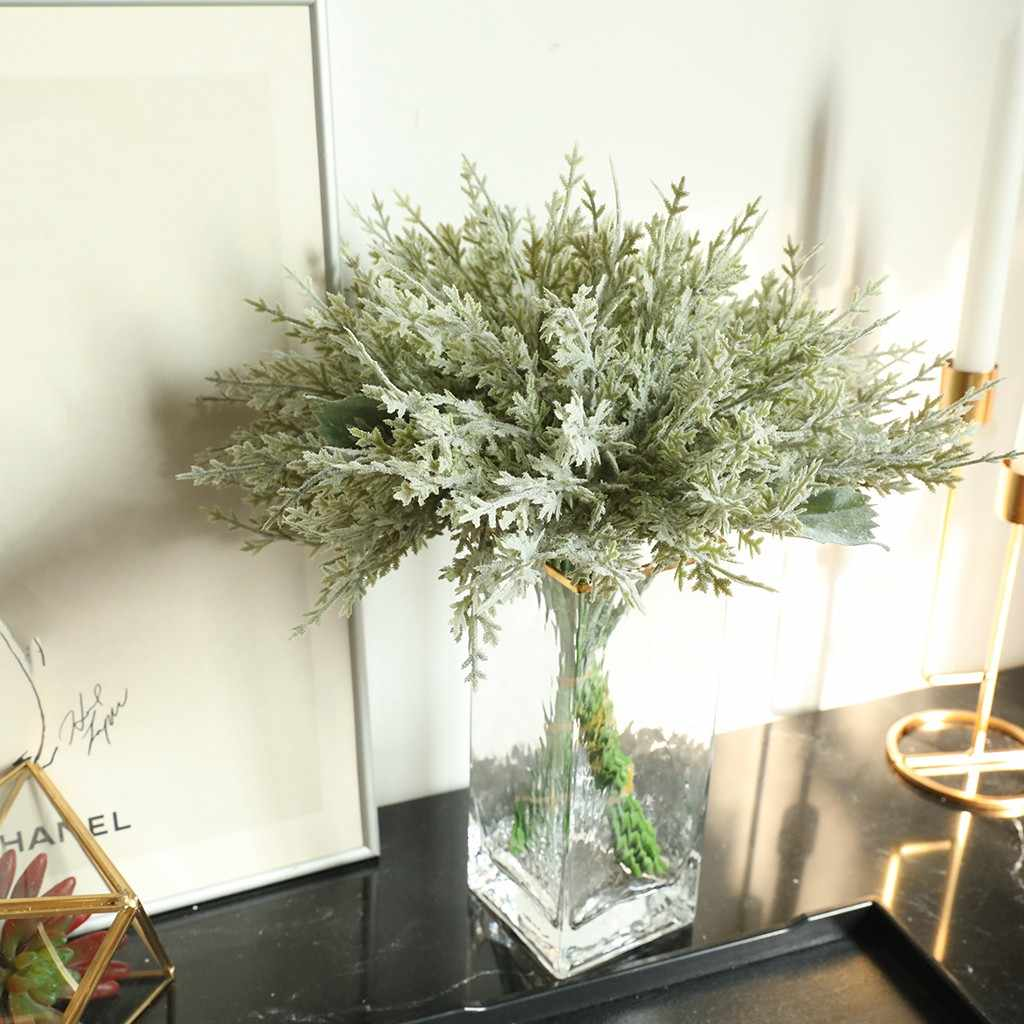 Lavendel Kunstmatige Blad Plant Bloemen Plant Boomtak Green Wedding Home Decor Bloemen Decor Party Accessoire Florese Nieuwe
