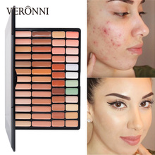 New Full Coverage Eyeshadow Cream Concealing Foundation Concealer Makeup Power Silky 50 Colors maquiagem profissional makeup