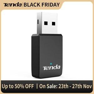 Tenda U9 650Mbs USB Wireless 2.4G&5G Wifi Adapter High speed Network Card RTL8811 Dual Band 802.11 AC Antenna For Laptop Desktop
