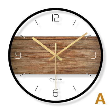 Nordic Glass Silent Luxury Wall Clock   Modern Design Home Art Simple Wall Clock Orologio Da Parete Living Room Decoration