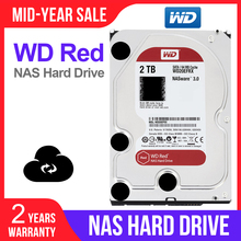 "WD الأحمر 2 تيرا بايت شبكة تخزين hdd 3.5 ""NAS قرص صلب القرص الأحمر 2 تيرا بايت 5400 RPM 256 متر مخبأ SATA3 6 جيجابايت/ثانية HDD wd20efx"