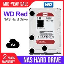 """WD Red 2 ТБ Сетевое хранилище hdd 3,5 """"NAS, жесткий диск, красный диск, 2 ТБ 5400 об/мин, 256M кэш, SATA3 6 ГБ/сек. HDD WD20EFAX"""