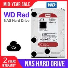 """WD Red 2TB di Storage di Rete hdd 3.5 """"NAS Hard Disk Disco Rosso 2TB 5400 RPM 256M cache SATA3 6 Gb/s HDD WD20EFAX"""