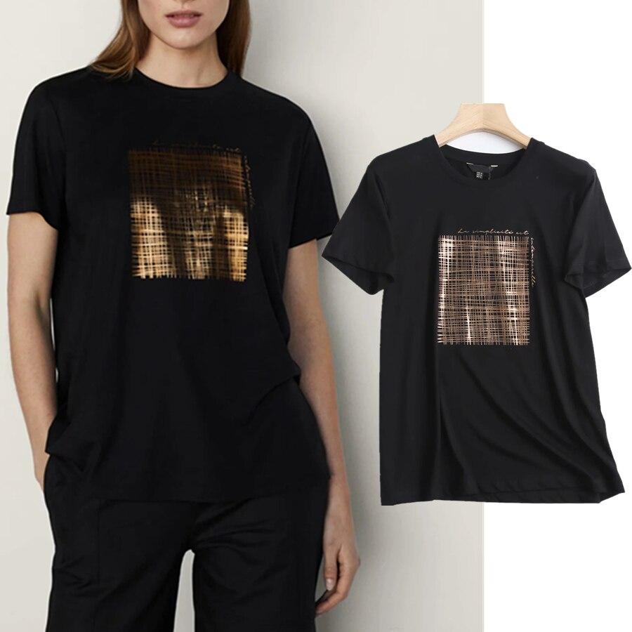 Увядшая Хай-стрит Англия Мода принт о-образный вырез хлопок Harajuku футболка Летняя женская футболка летние женские футболки Mujer 2021 Топ
