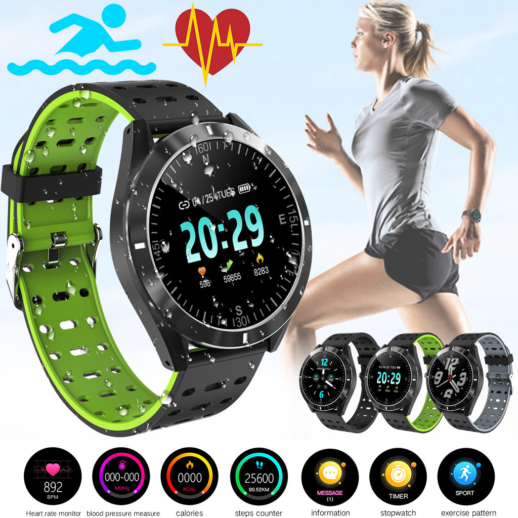 Smart Watch Android iOS Sports Fitness Calorie Wristband Wear Smart Watch 2019 Wristband Watch Strap fitness tracker #E20