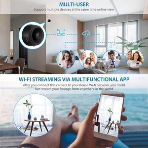 Image 5 - A9 1080P Camera Mini Wifi Không Dây Thông Minh Máy Quay An Ninh Ngôi Nhà P2P Camera Quan Sát Ban Đêm Video Micro Nhỏ Cam Chuyển Động phát hiện