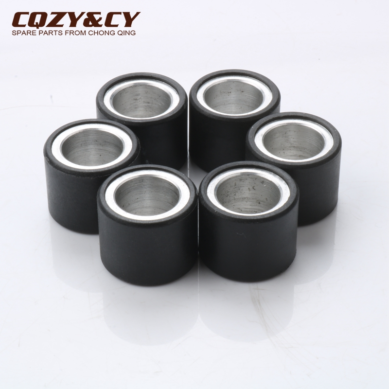 6pc Variator Racing Roller Weights 5gram 19x15.5 Mm For APRILIA Sport City One 50 Sr R Factory Carb 50 Sr Street 50cc CM1102035