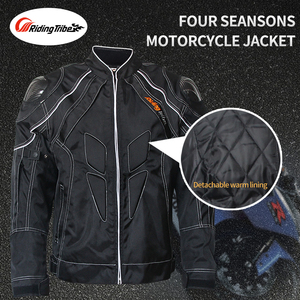 Image 5 - Riding Tribe Motorcycle Mens Biker Jeans Protective Gear Motocross Motorbike Racing Breathable Pants Straight Trousers HP 11