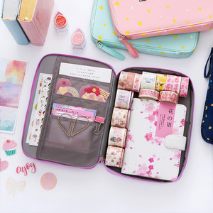 Image 4 - Korea Multifunction School Pencil Case & Bags Large Capacity Canvas Pen Curtain Box For Boy Students Gifts Stationery Supplies