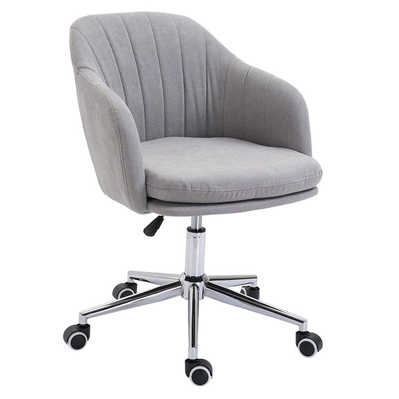 Entièrement détachable et lavable chaise d'ordinateur nordique chaise de bureau confortable installé tissu chambre canapé ascenseur chaise maison