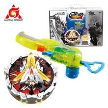 Gyroscope Infinity Nado 5 Force Ultime Série Double Anneaux En Métal Empilable Toupies Enfants Beyblade Jouet Avec Magnétique Lanceur