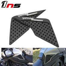 цена на Motorcycle Protector Anti slip Tank Pad Sticker Gas Knee Grip Traction Side For Yamaha MT09 Tracer MT-09 MT 09 2015-2017
