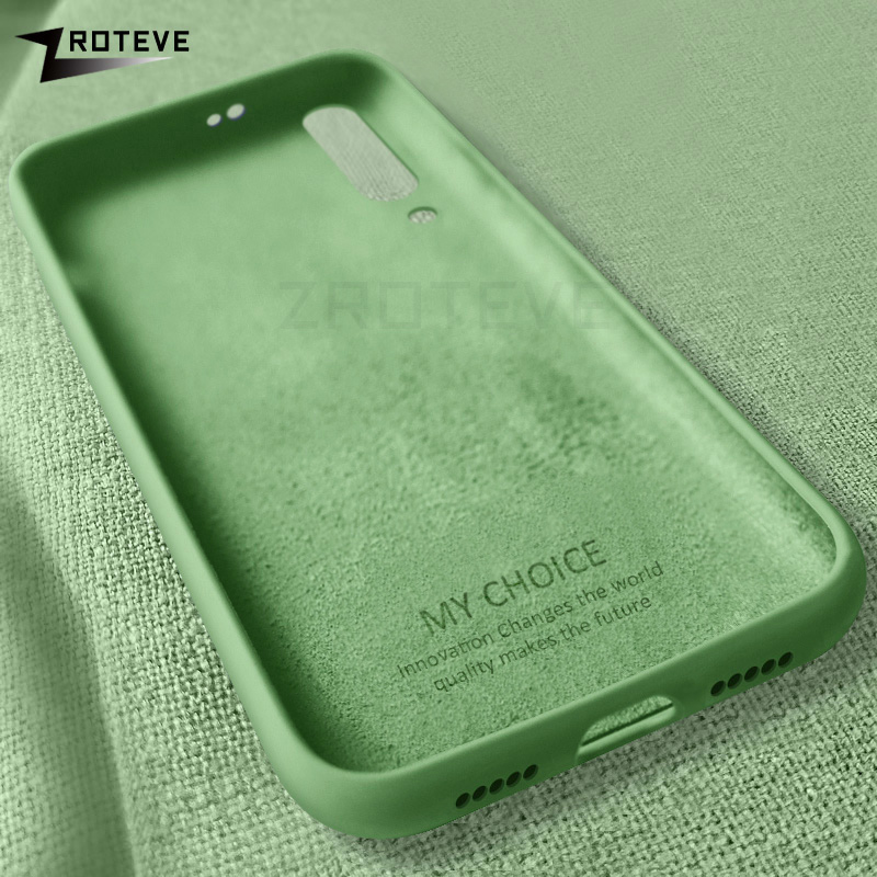 Mi 9 Case ZROTEVE Liquid Silicone Cover For Xiaomi Mi9 SE Mi8 Pro Case Xiomi Cover For Xiaomi Mi9T Mi 8 9 Lite 9T CC9 Pro Cases image