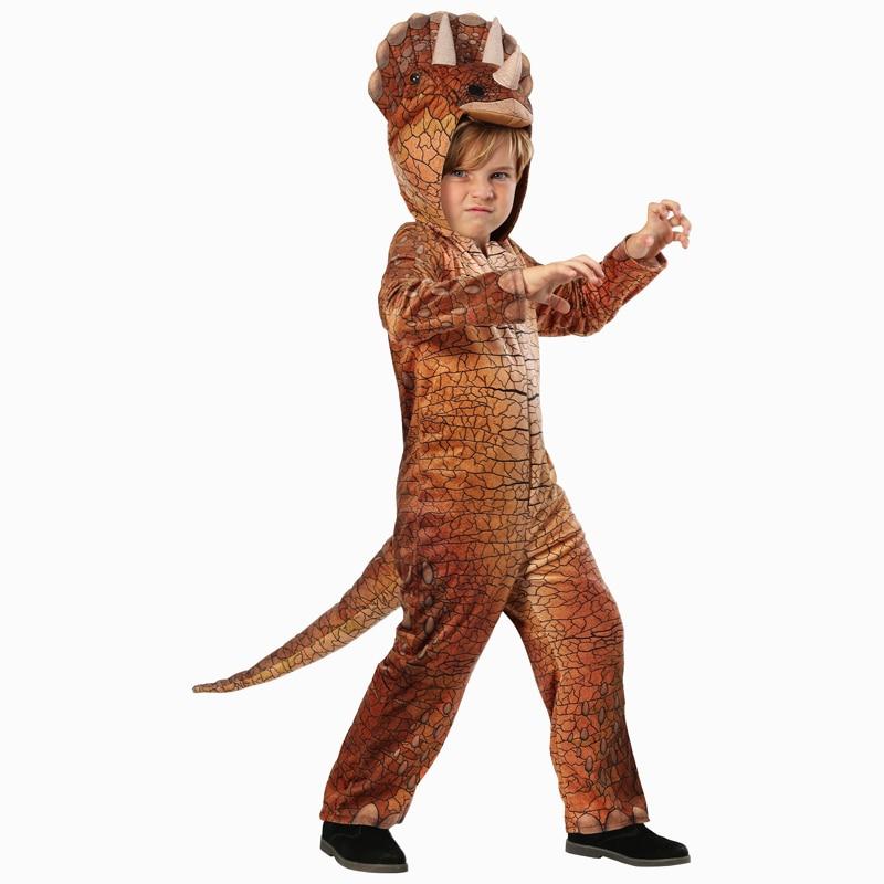 Triceratops Child Dinosaur Costume Cosplay Halloween Costume For Kids