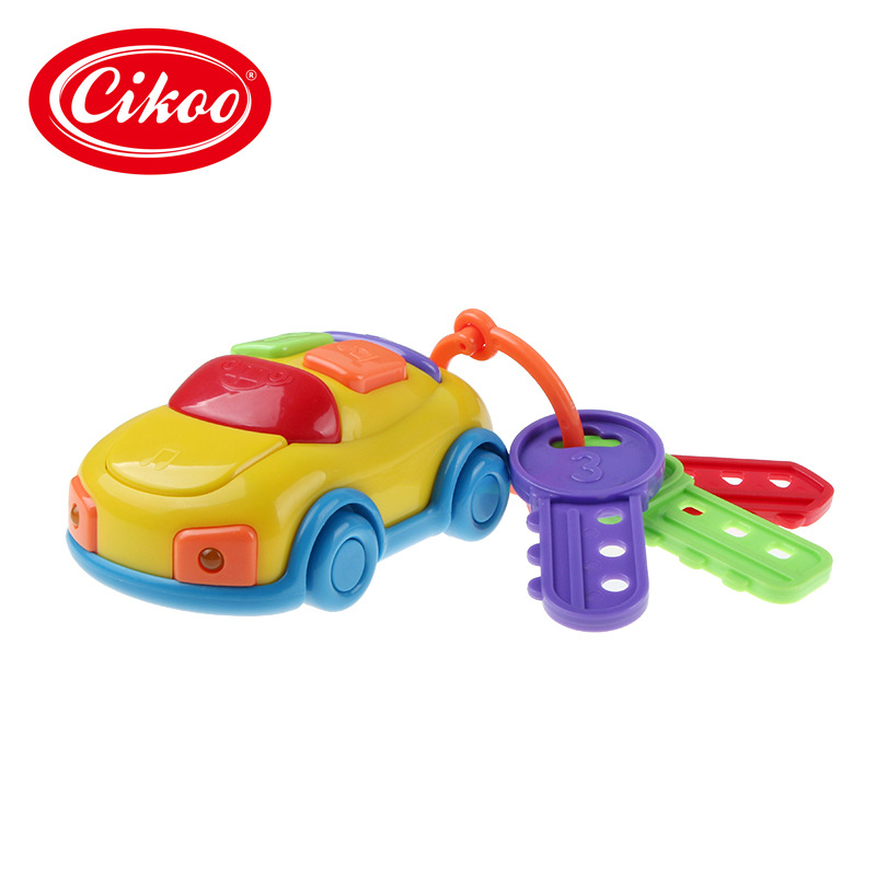 Music Car Key Baby Early Childhood Infants Educational Toy Strange New 1-3 Years Old Creative
