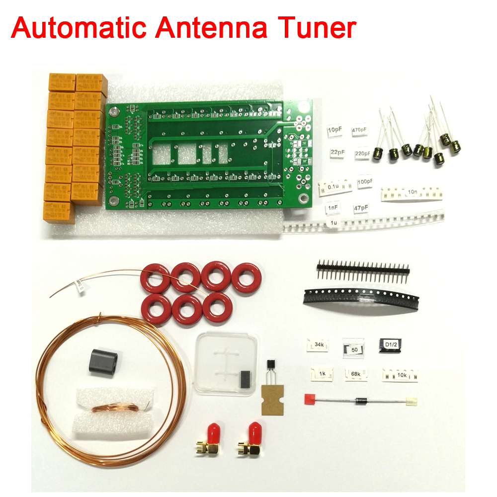 Dykb Automatic Antenna Tuner By N7DDC 1.8-50MHz ATU-100 MINI 7x7 DIY KITS FOR Shortwave RTL-SDR Receiver