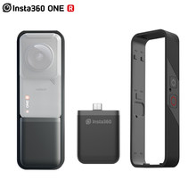 Insta360 capa vertical para insta360 one r 360, mod base de bateria vertical, acessório para insta360 one r