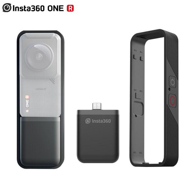 Insta360 قاعدة بطارية عمودية One R 360 Mod ، غلاف ممتص الصدمات الرأسي ، ملحقات Insta360 ONE R