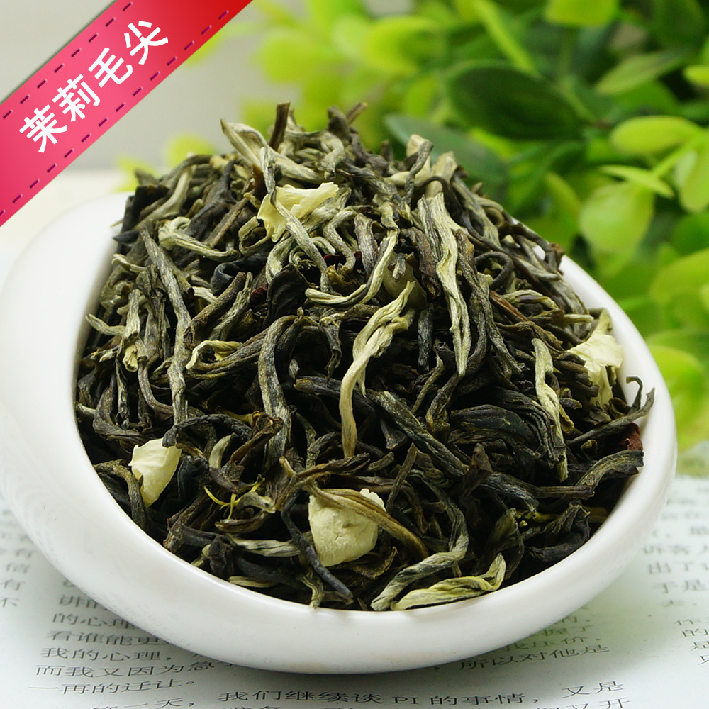 2019 Chinese Jasmine Flower Green Tea Real Organic New Early Spring Jasmine Tea For Weight Loss Green Food Health Care