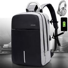 Men Laptop Bag Travel Backpack Multifunction Business Bag Anti Theft USB Charging Waterproof Unisex School Backpack for Boy