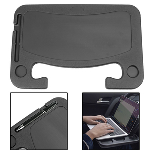 LEEPEE Portable Steering Wheel Eat Work Drink Food Coffee Goods Tray Auto Accessories Car Laptop Computer Desk Mount Stand