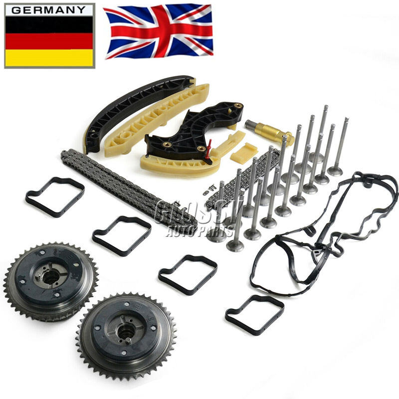 AP02 Timing Chain Pulley Kit + Valve For Mercedes S204 W203 W204 W211 1.8 Compressor M 271 M271 2710500800, 2710500900