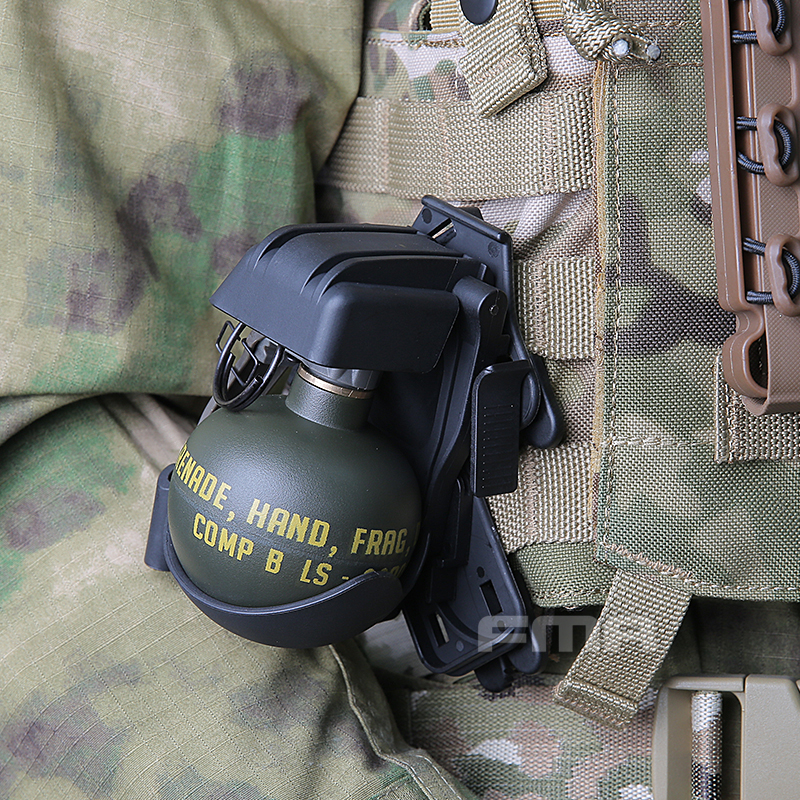 Nylon Dummy M-67 M67 EG Frag Gren Model ASM Plastic Dummy Model With Molle System Quick Release Vest Accessories No Function
