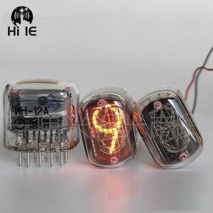 Image 1 - Novo tubo de brilho para relógio, 1 peça, novo em 12 em 12, tubo para brilho, nixie, relógio digital led com ponto decimal