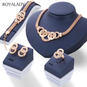 Vintage Gold Jewelry Sets Neck
