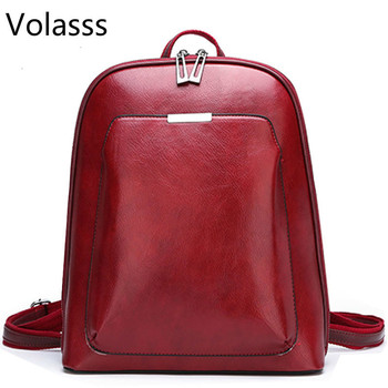 Sac A Dos School bags Backpack Women Leather Backpacks for GirlsFemale Travel Shoulder Bagpack Ladies Casual Daypacks Mochilas 2019 classic women leather backpacks for girls sac a dos female backpack college travel bagpack ladies back pack mochilas girl