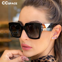 Oversized Sunglasses Square Women Shades Fashion Men Brand Designer UV400 49550 Vintage