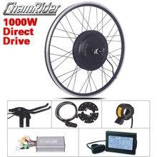 48V 1000W E Bikeไฟฟ้าจักรยานชุดXF39 XF40 30H Driectไดรฟ์มอเตอร์ชุดMXUSยี่ห้อLEDจอแสดงผลLCD Freehub