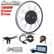 48v 1000ワットの電子バイクキット電動自転車変換キットXF39 XF40 30h driect駆動モータキットmxusブランドled液晶ディスプレイfreehub